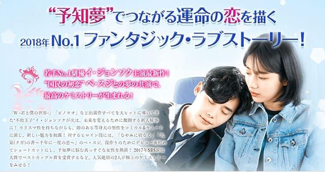 韓流・韓国ドラマ『あなたが眠っている間に』の作品概要