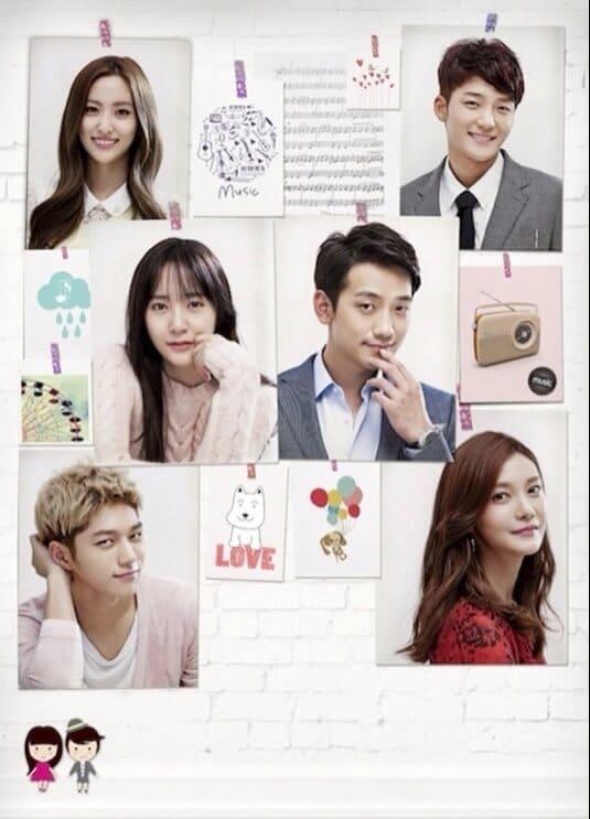 韓流・韓国ドラマ『僕には愛しすぎる彼女』の登場人物の人間関係・相関図・チャート