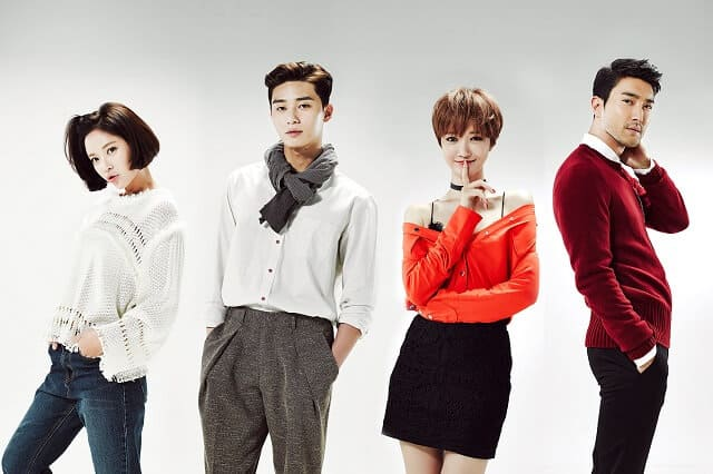 韓国ドラマ『彼女はキレイだった』のキャスト