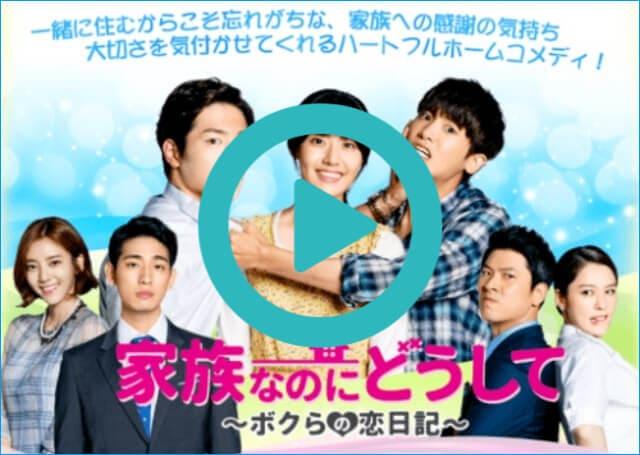 韓国ドラマ『家族なのにどうして ~ボクらの恋日記~』を見る