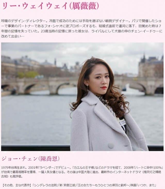 韓流・韓国ドラマ『記憶の森のシンデレラ~STAY WITH ME~』の出演者(キャスト・スタッフ紹介)