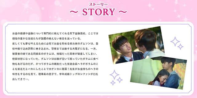 韓流・韓国ドラマ『恋はマネーゲーム~この子たち、何?~』の作品概要