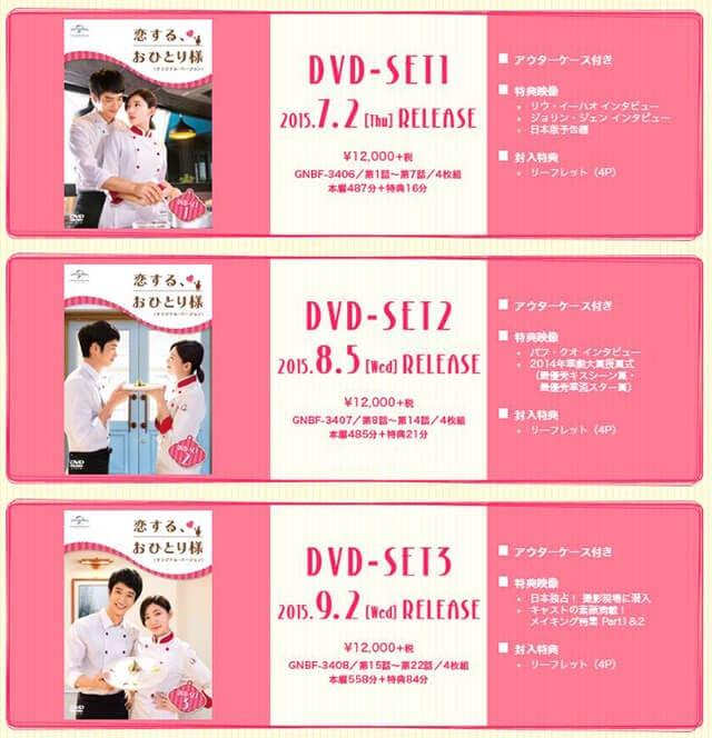 韓流・韓国ドラマ『恋する、おひとり様』のDVD&ブルーレイ発売情報
