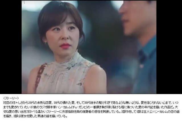 韓流・韓国ドラマ『真夏の思い出~一度きりのサマーラブ』の作品概要
