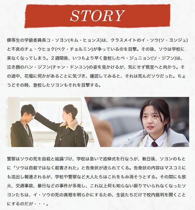 韓流・韓国ドラマ『ソロモンの偽証』の作品概要