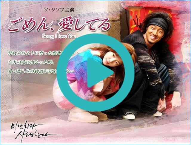 韓国ドラマ『ごめん、愛してる』を見る