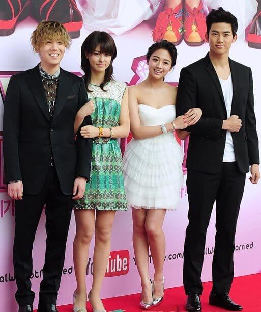 韓流・韓国ドラマ『テギョン&ホンギの私たち結婚しました』の出演者(キャスト・スタッフ紹介)